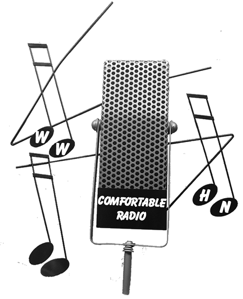 WWHN Comfortable Radio Trademark Logo Large